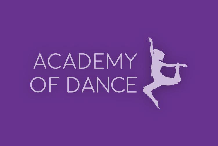 academy of dance logo watermark