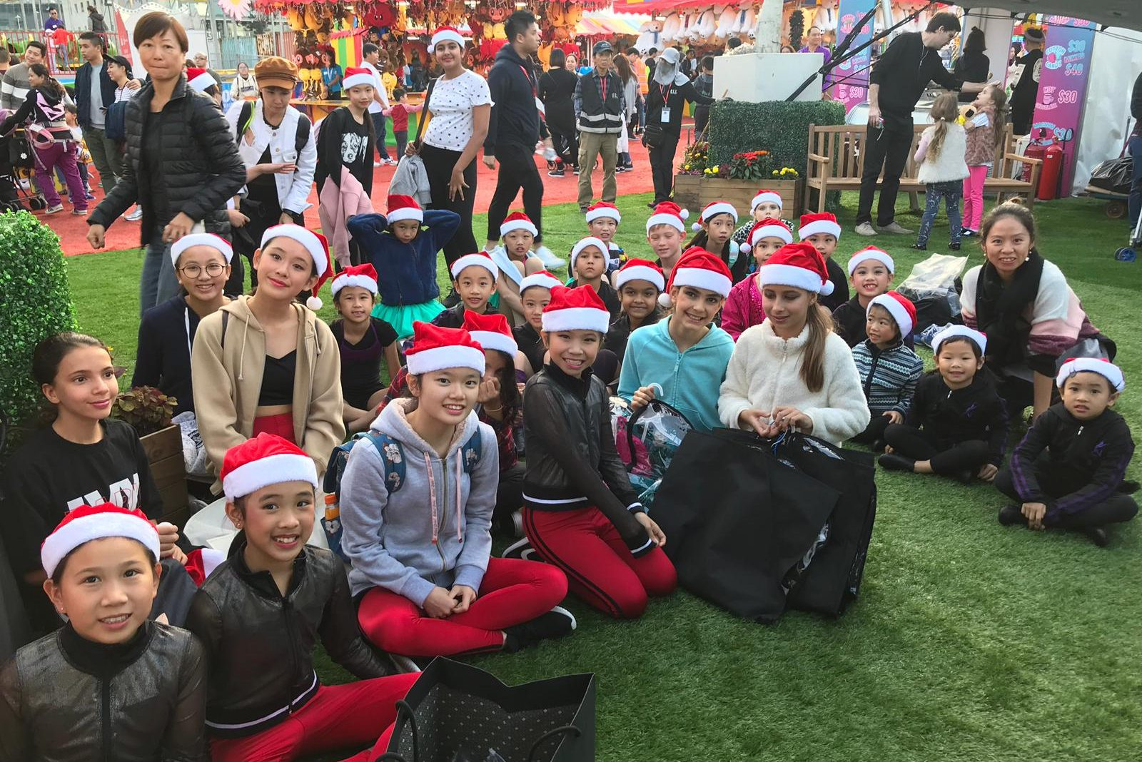 Academy of Dance - AIA Carnival Group Photo